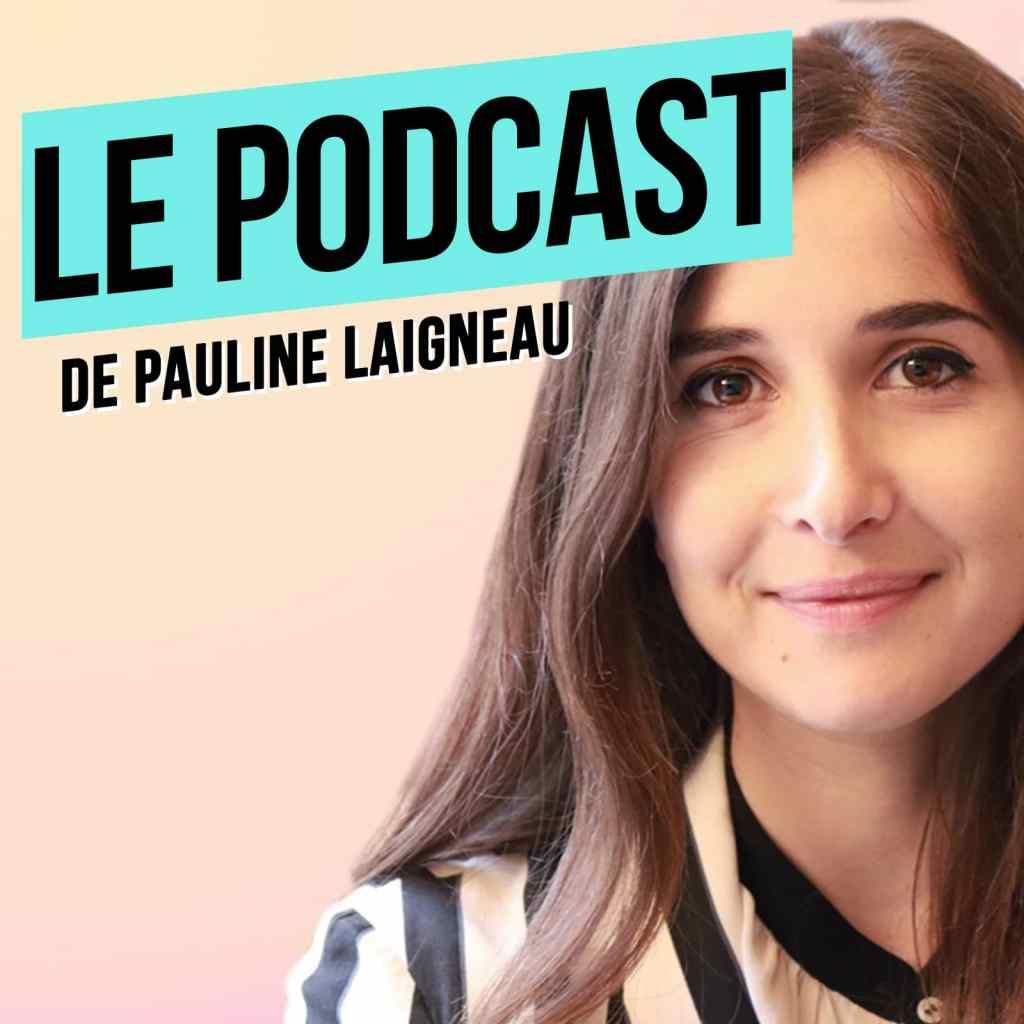 Logo le podcast - Pauline Laigneau